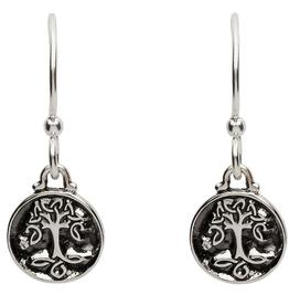 S/S Celtic Tree of Life Dangle Earrings