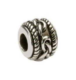 Celtic Silver Bead