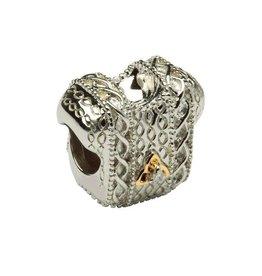 Diamond Set Celtic Trinity Aran Sweater Bead