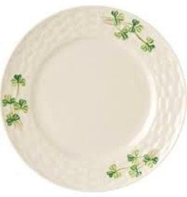 Belleek Shamrock Salad Plate