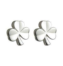 S/S Kids Shamrock Stud Earrings