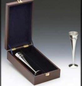"""Claddagh Wedding Flutes Boxed (10"""" high)"""