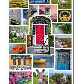 Blank Ireland Photo Collage Card
