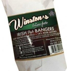 Winstons Pork Sausage Bangers 16oz