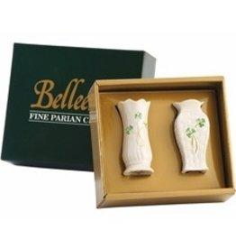 Belleek Set of 2 Mini Vases