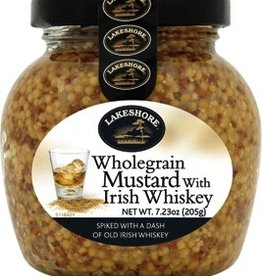 Lakeshore Wholegrain Mustard w/ Irish Whiskey (7.23oz)
