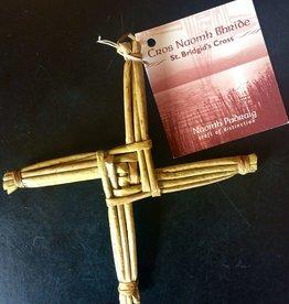 Naomh Padraig Handcrafts St. Brigid's Cross - Small