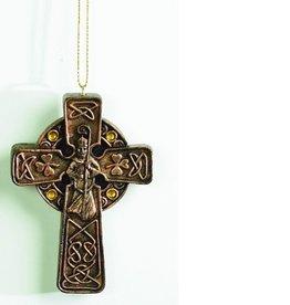 St. Patrick Cross Ornament w/ Card
