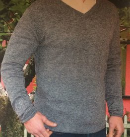 RETRO IRISH V-Neck Sweater