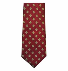 Red Celtic Origins Silk Tie