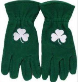 Shamrock Green Fleece Gloves