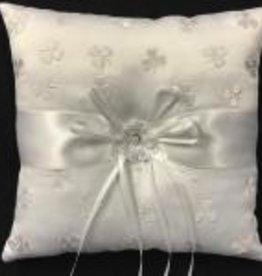 Shamrock Wedding Pillow