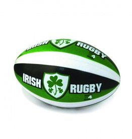 Small Rugby Ball- Green/White