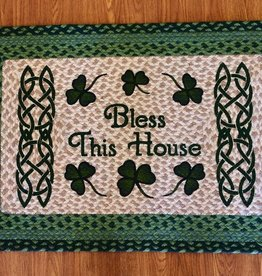 Capitol Earth Rugs Bless This Irish House Oblong Rug, 20x30 in.