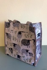 Tapestry Shopper Bag, Sheep & Daisy