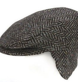Tweed Vintage Cap with Ear Flaps