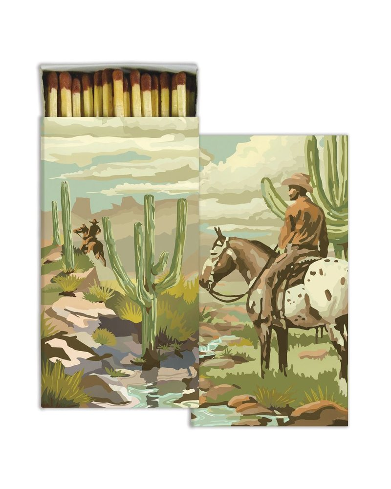 HomArt Matches - Cowboy  - Set of 3