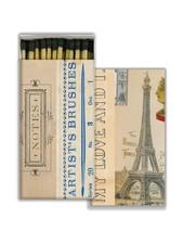 HomArt Matches - Artist Notes - Black - Set of 3