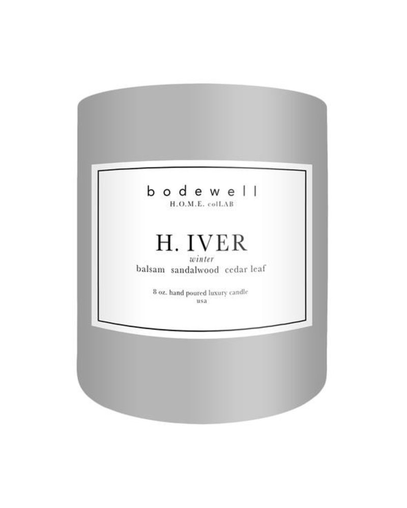 Bodewell Home H.IVER Candle 8oz