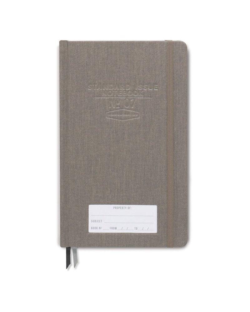 Designworks Ink Standard Issue Notebook Taupe