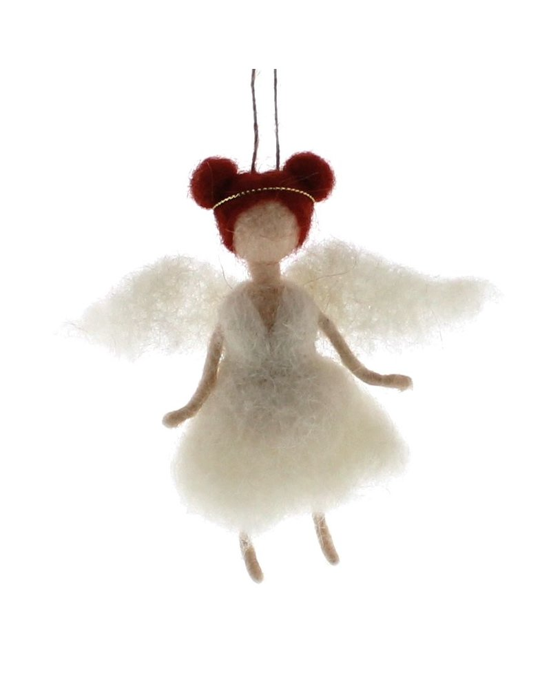 HomArt Felt Angel Ornament - Ginger