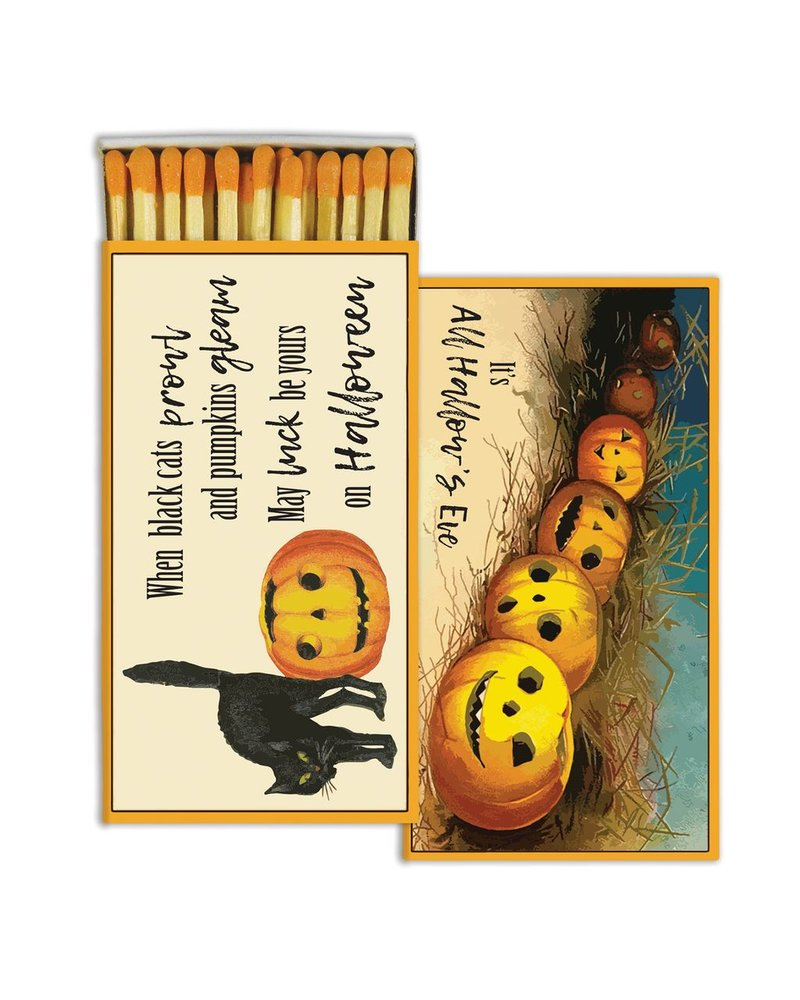 HomArt All Hallows Eve HomArt Matches - Set of 3 Boxes