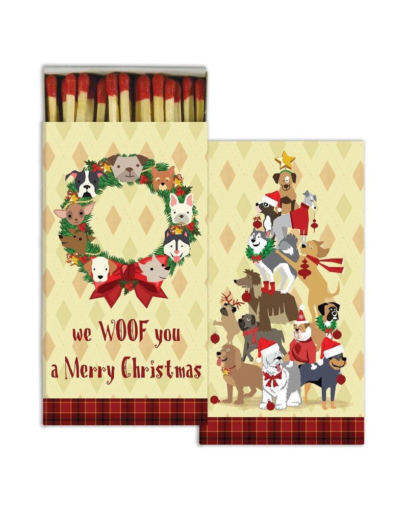 HomArt Matches - Holiday - Dog  - Set of 3