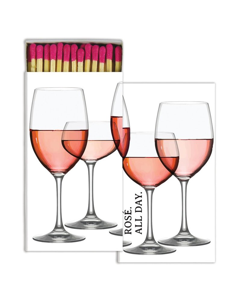 HomArt Matches - Rose All Day - Set of 3