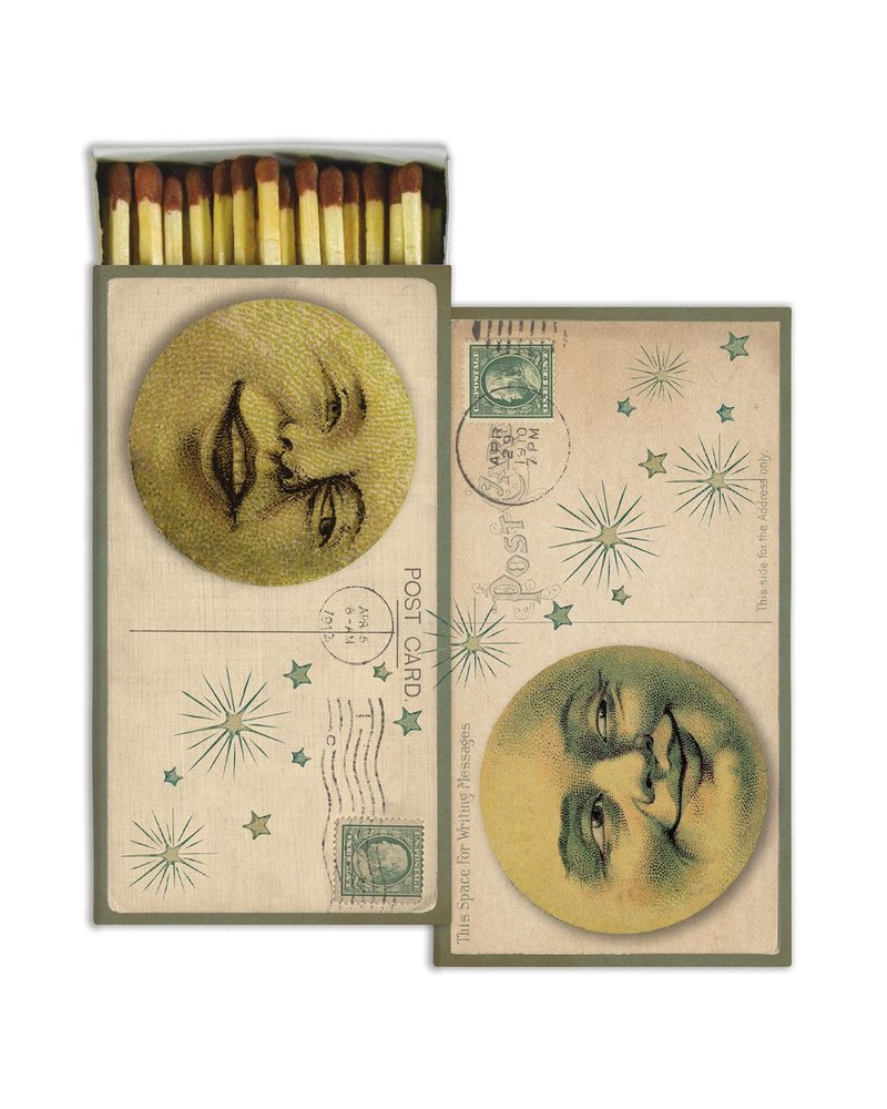 HomArt Matches - Man In The Moon - Set of 3