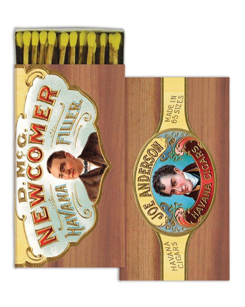 HomArt Cigar HomArt Gentlemen Matches - Set of 3 Boxes