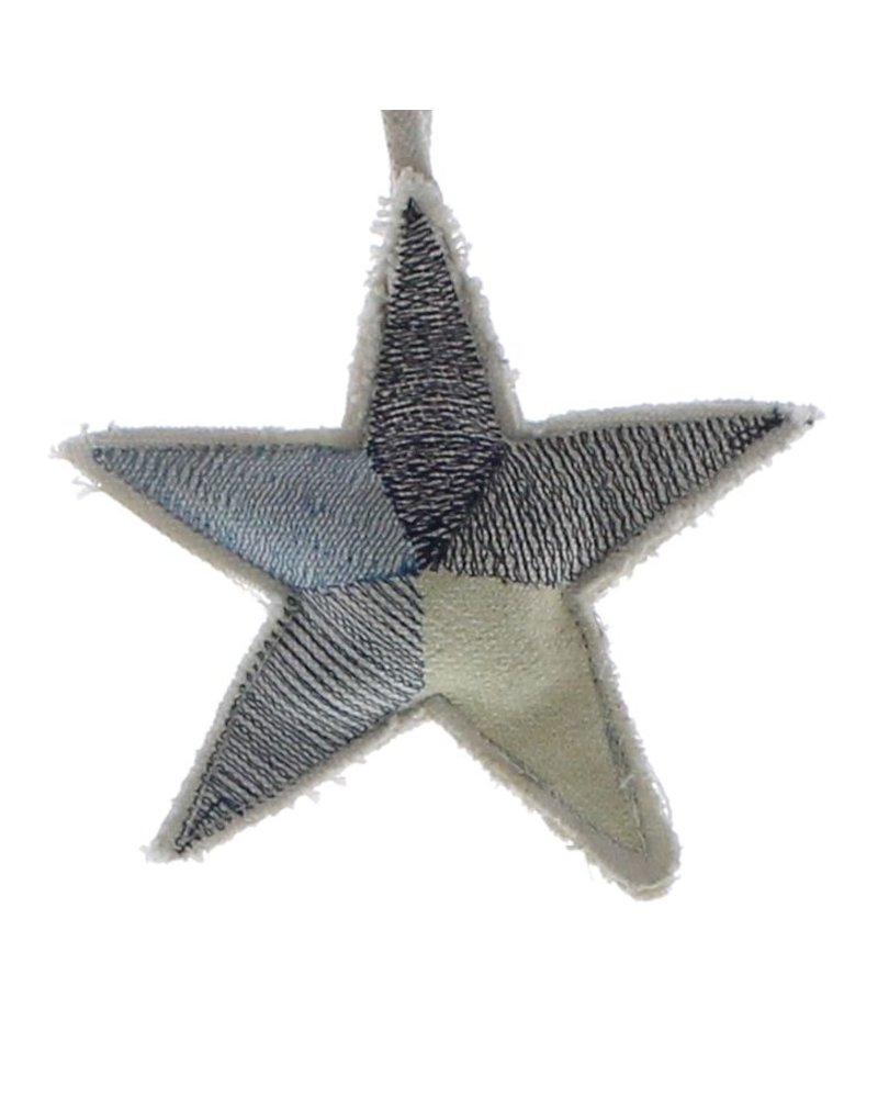 HomArt Canvas Star Ornament - Blues  Blues