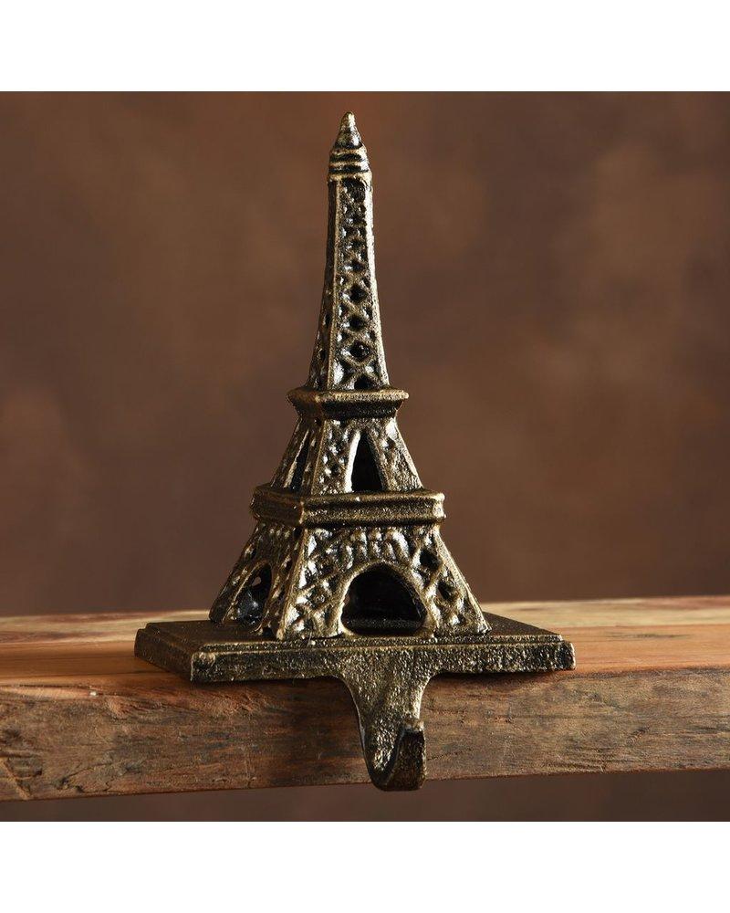 HomArt Eiffel Tower Stocking Holder - Cast Iron-Antique Bronze