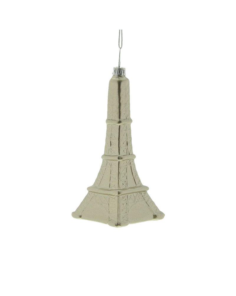 HomArt Eiffel Tower Glass Ornament