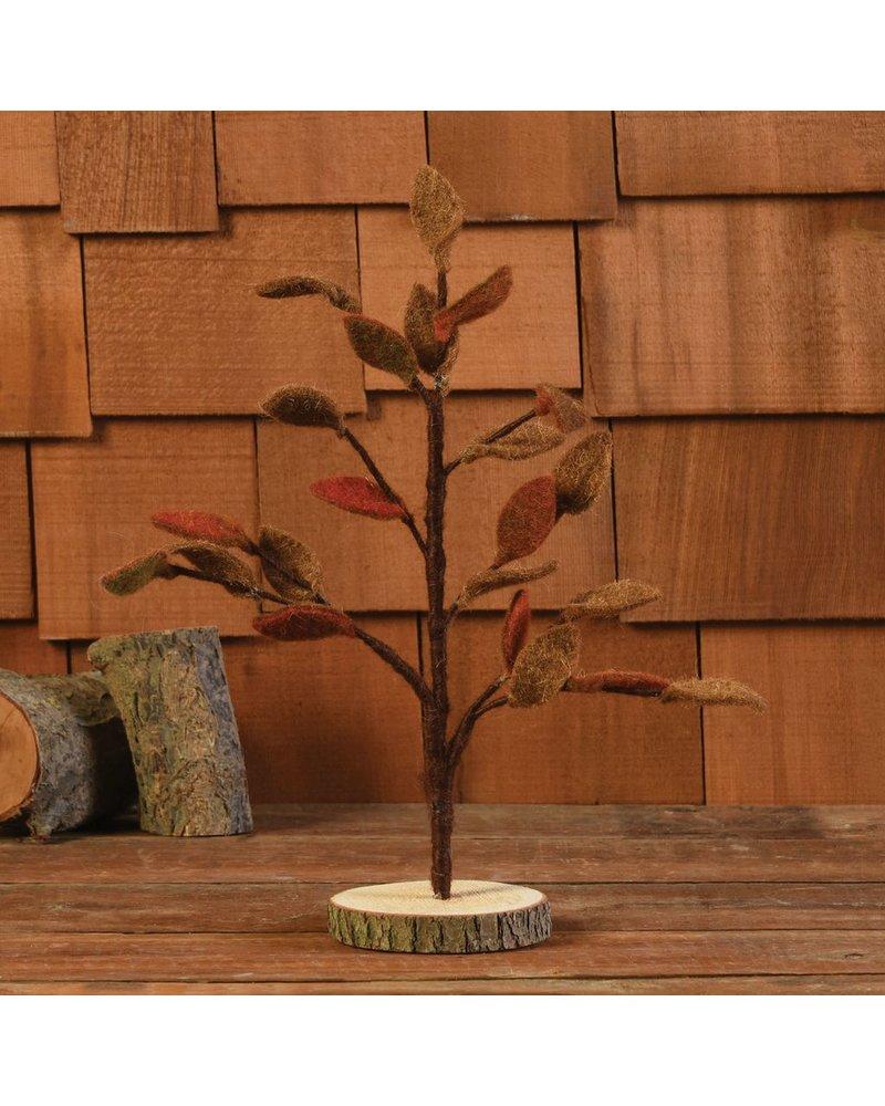 HomArt Felt Leaf Tree, Autumn - Sm