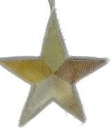 HomArt Canvas Star Ornament - Yellows  Yellows