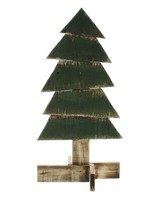 HomArt Wood Slat Christmas Tree - Sm