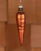HomArt Carrot Ornament - Glass