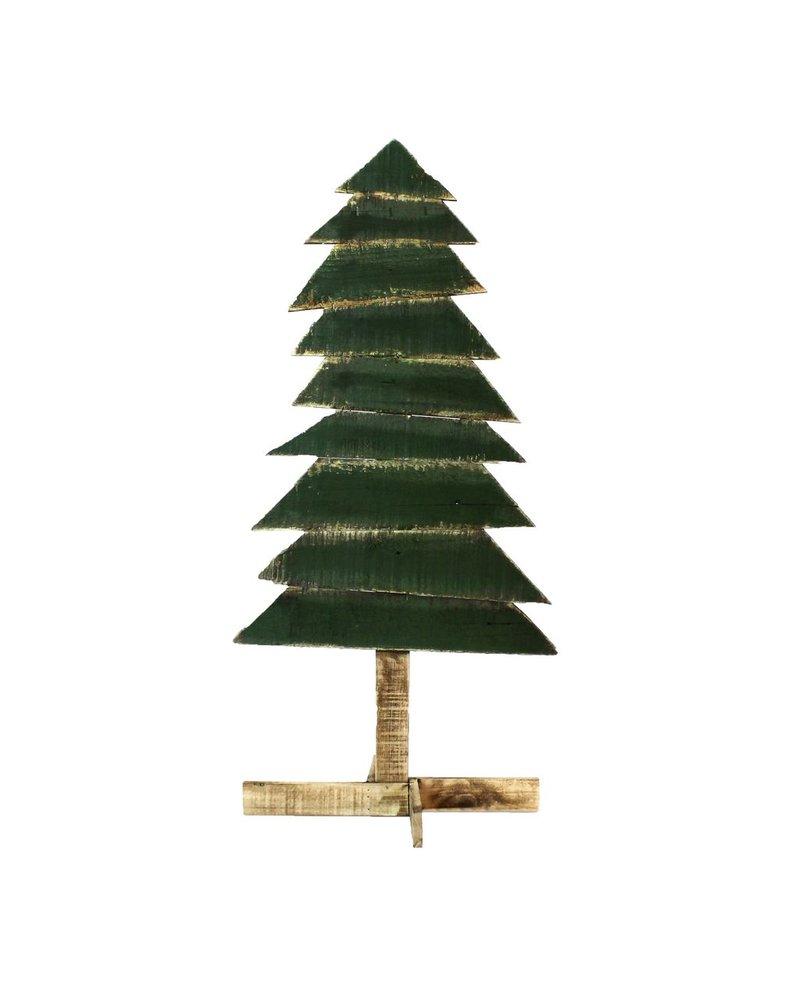 HomArt Wood Slat Christmas Tree - Lrg