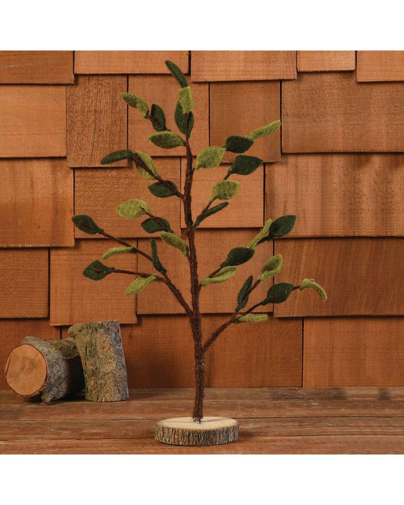 HomArt Felt Leaf Tree, Spring - Lrg