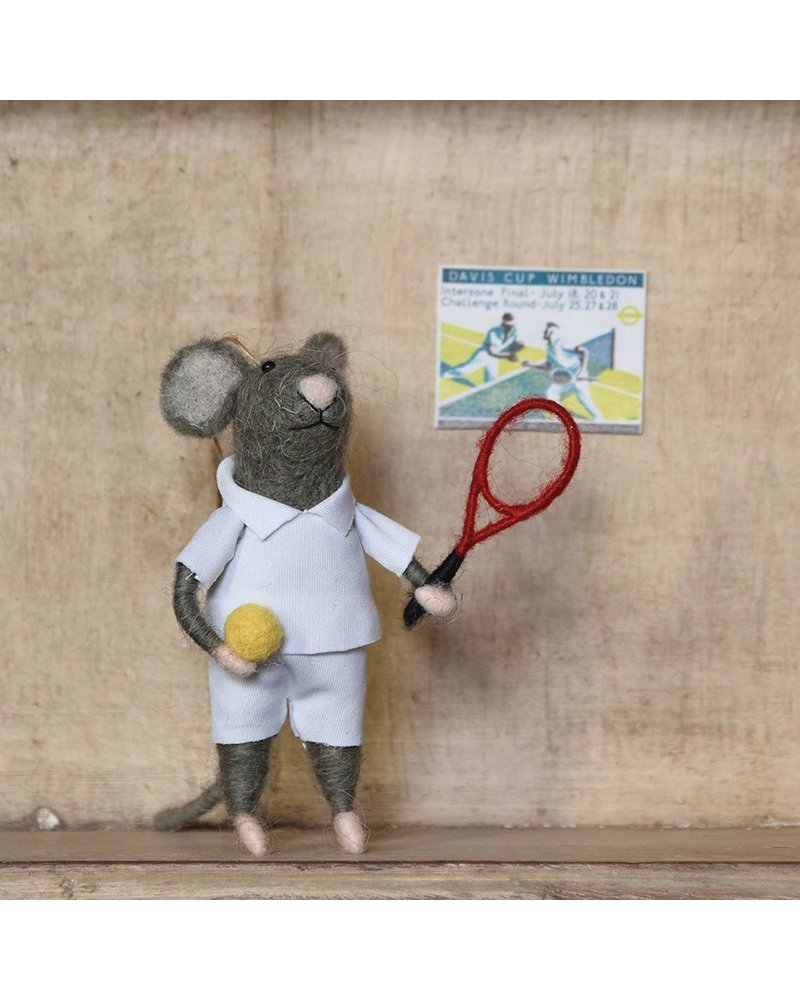 HomArt Tennis Player Guy Mouse