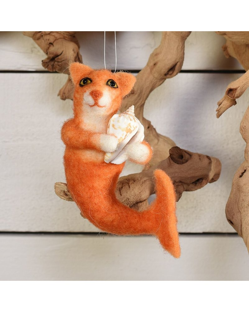 HomArt Mermaid Cat, Orange