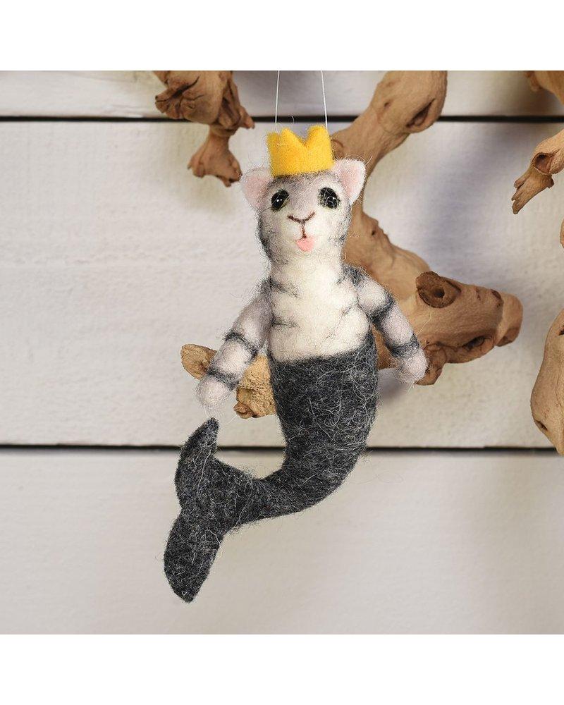 HomArt Mermaid Cat, Grey