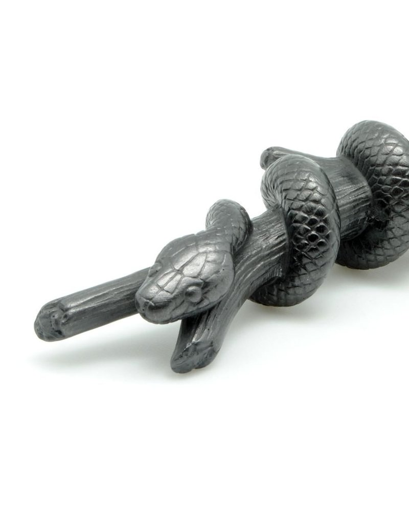 Sculptural Graphite Pen-Snake Sm