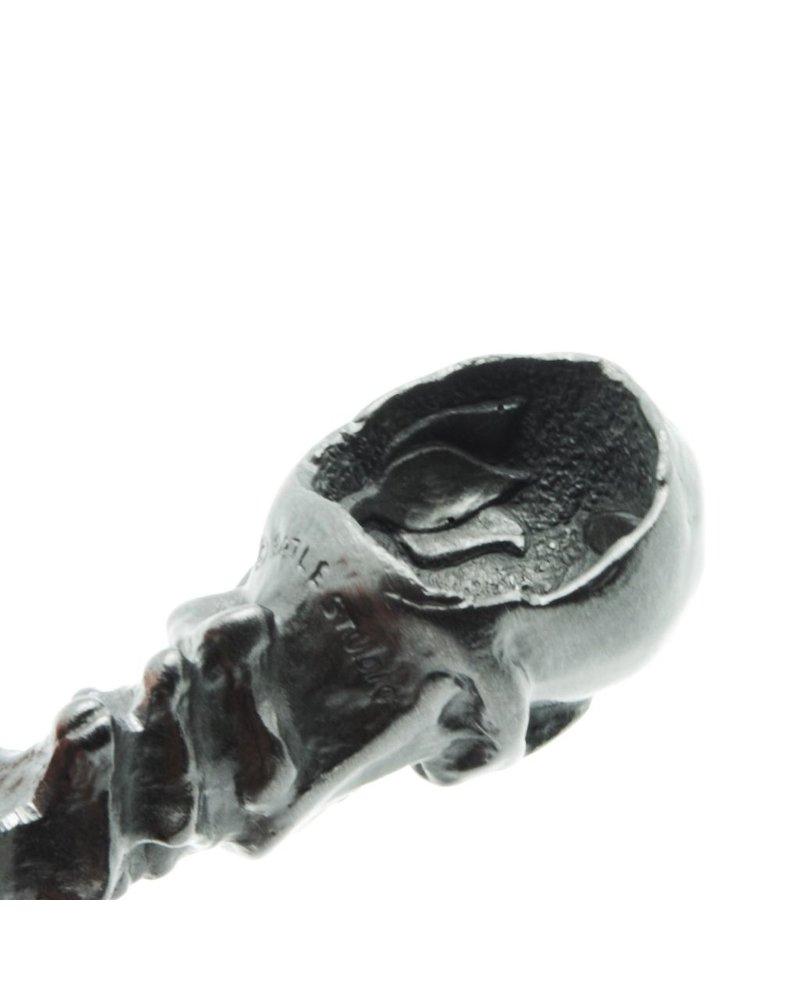 Sculptural Graphite Pen-Memento Mori Sm