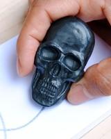 Graphite Pen Skull w/Studio Pad Set