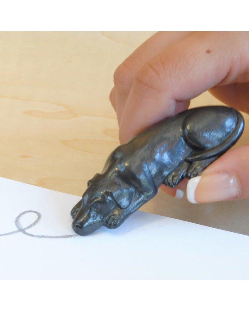 Graphite Pen Dog w/ Studio Pad Set