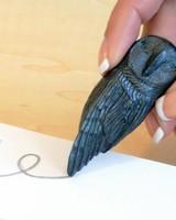 Graphite Pen Owl w/ Studio Pad Set
