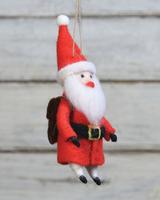 HomArt Felt Santa Gnome Ornament