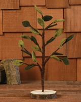 HomArt Felt Leaf Tree, Spring - Sm