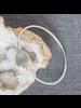 OraTen Celestial Silver Bangles, Round